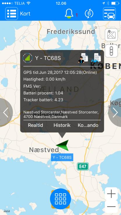 Smartgps app oversigt